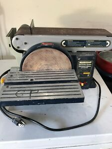 Mastercraft Belt and Disc Sander