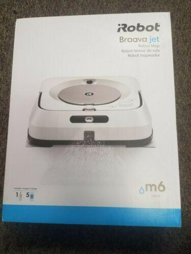 NEW!!! iROBOT Braava jet M6 6110 WIFI ROBOT MOP   RMA-Y1   Quick Shipping