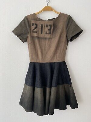 NWT Marna Ro A-line Wool Blend Dress Size S
