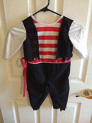 Halloween Costume Pirate / Peter Pan Size 2-4 Womens Great Shape See Pictures!
