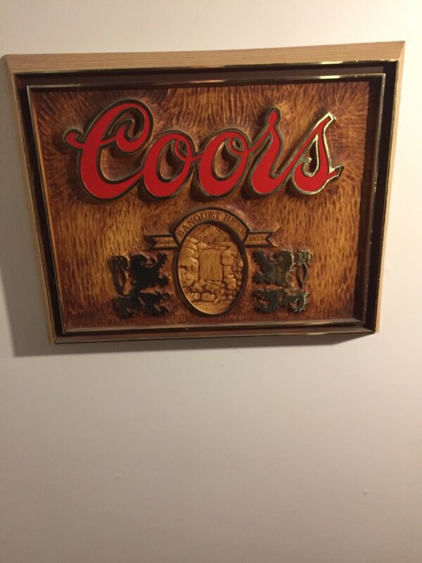 Coors Banquet Hall Sign