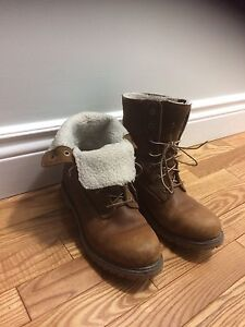 Women's Timberland Authentic Waterproof Fold Down Boots