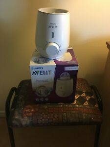 Baby bottle warmer by Philips Avent