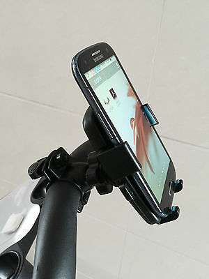 JL Golf Mobile phone holder Mount trolley adjustable clamp iPhone universal GPS