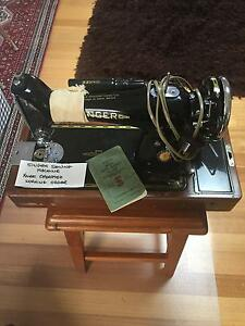 Collectible Knee-Operated Singer Sewing Machine 201K Blackburn South Whitehorse Area Preview