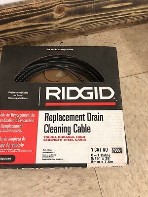 Drain Cleaning Cable516 In. X 25 Ft. Ridgid 62225