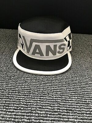 Vans Mens White Original Painters Hat Logo Cap One Size Snapback Cap Brand New