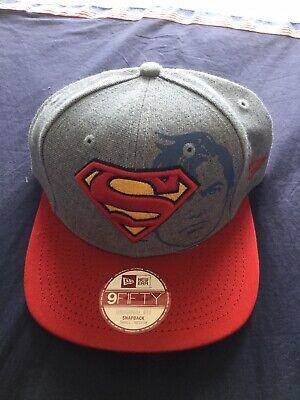 Superman New Era 9fifty SnapBack Hat