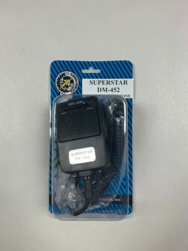 Workman DM452 Superstar CB Radio 4-Pin Echo Power Mic Microphone Cobra Galaxy+