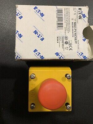 Eaton M22-pvkc02iy Emergency Stop Switch