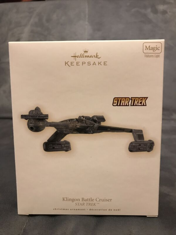2009 Hallmark Keepsake Ornament - Star Trek: Klingon Battle Cruiser