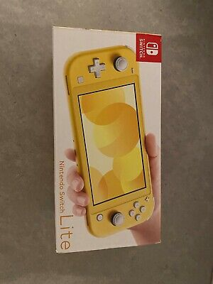 Nintendo Switch Lite Yellow Console Brand New Sealed