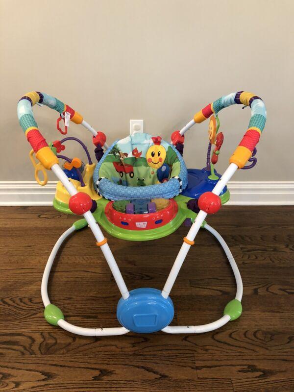 Baby Einstein Neighborhood Friends Baby Activity Jumper - FREE SHIP!