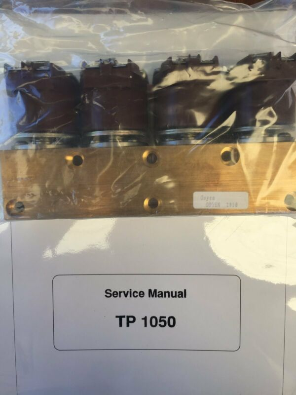 Leica TP 1050 Tissue Processor  - Assy Valve Set, Wax
