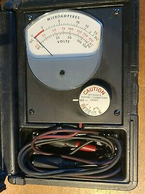 Vintage - Jewell Electrical Instruments Microamp Meter 9309 Free Shipping