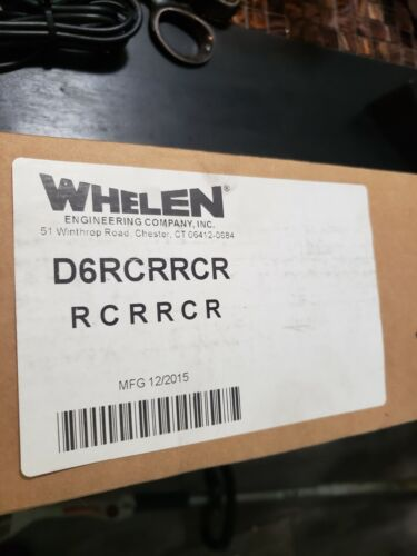 NEW Whelen Dominator D6 Six Super LED Light Bar