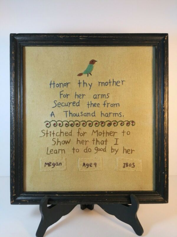 Primitives Sampler By Kathy in Frame & Glass
