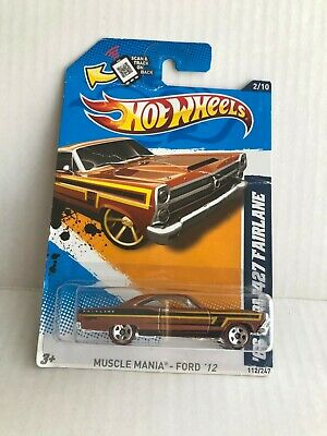 Hot Wheels Muscle Mania - Ford '12 #2/10  112/247 D5