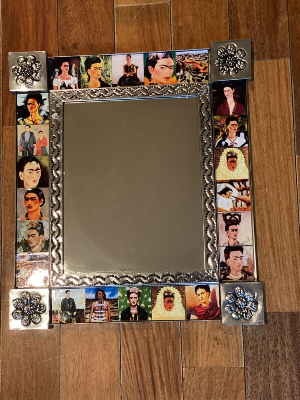Beautiful frida kahlo tiled Mirror