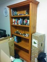 Solid Oak Bookshelf Erskineville Inner Sydney Preview