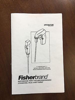 Fisherbrand Motorized Pipette Fillerdispenser Manual
