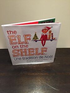 Elf on the Shelf Book (French version)