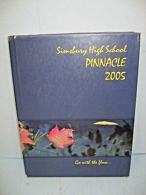 2005 Pinnacle  Simsbury High School  Simsbury  Connecticut Yearbook