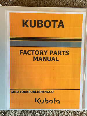 Kubota Lx3310hsdc Tractor Master Parts Lookup Replacement Manual