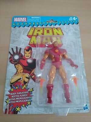 "MARVEL LEGENDS RETRO COLLECTION IRON MAN 6"" ACTION FIGURE"