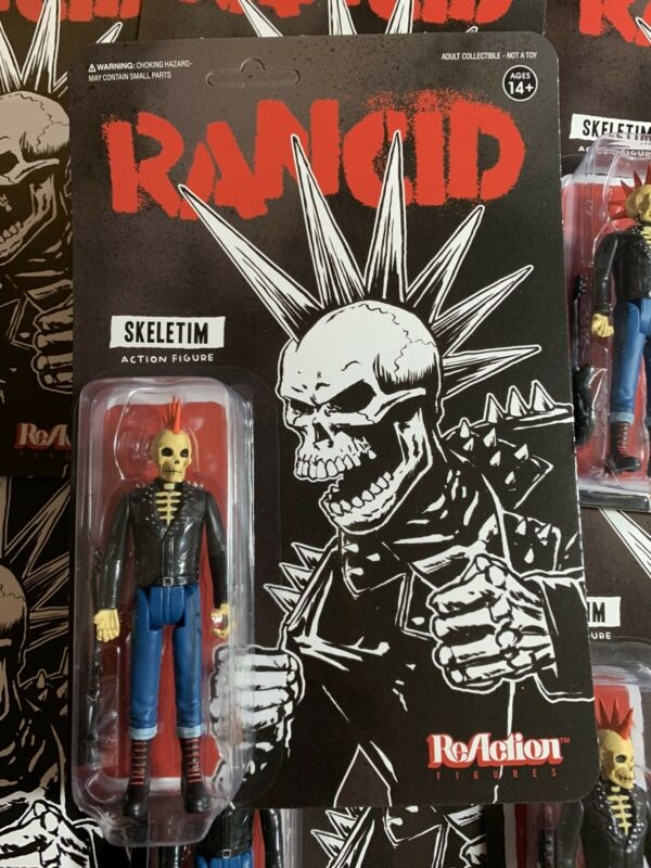 Super7 Punk Rock RANCID SKELETIM ReAction Action Figure