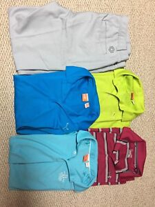 Golf Clothes Men's Polos and Pants Puma Under Armour