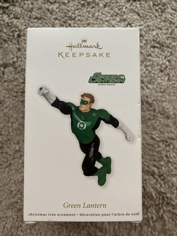 Hallmark Keepsake Ornament Green Lantern DC Comics 2011 NEW in Box