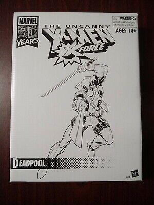 """Marvel Legends The Uncanny X-Men X-Force Vintage Deadpool 6"""" Exclusive"""
