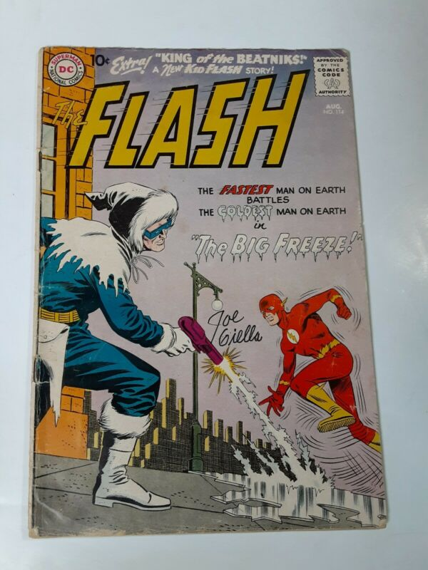 Signed The Flash #114- Captain Cold Appearance Joe Giella