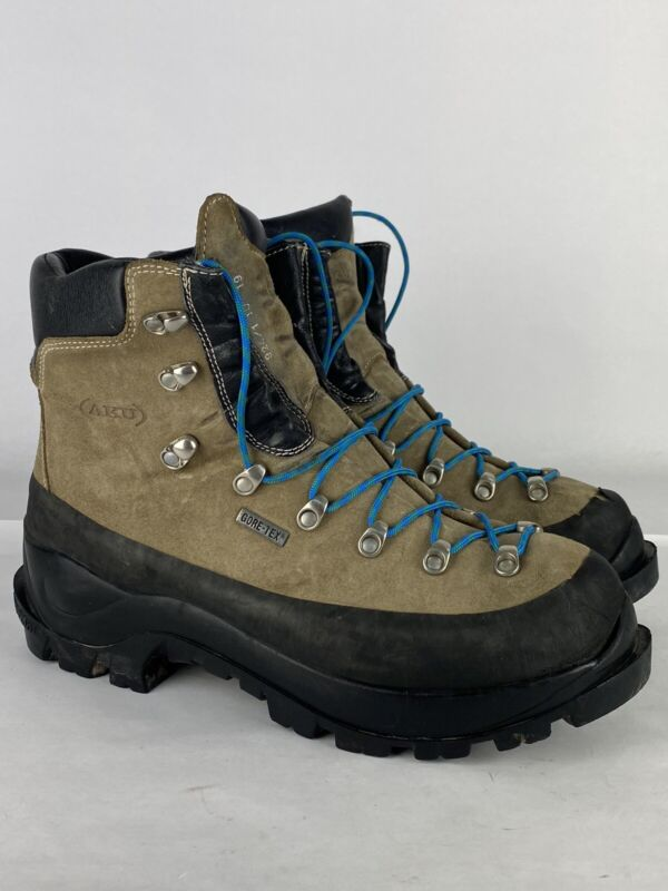 AKU Gore-Tex Mountaineering Boots Mens Size 10.5 Vibram Soles Hiking Extreme