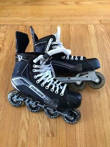 Barely used X300R Bauer Vapor Rollerblades