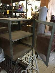 Vintage Large Hanging Meatsafe Meat Safe Cabinet Storage Mesh farm Queenstown Port Adelaide Area Preview