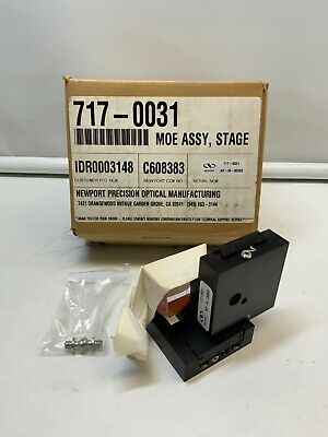 Newport 717-0031 Precision Optics 2-axis Linear Stage Moe Assembly Np-m-00969