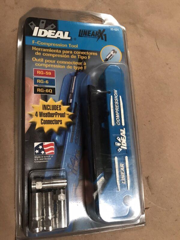 Ideal X1 F-Compression Tool 33-631