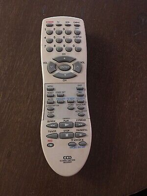 CCD Closed Caption Decoder Remote TV/VCR/CABLE * Closed Captioned Decoder