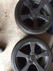 Core Racing Rims w/Tires