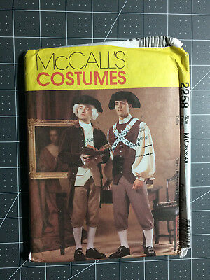 McCall's #2258 ~ Pattern Revolutionary Colonial Costumes ~ Men's 36-40 ~ FF / UC
