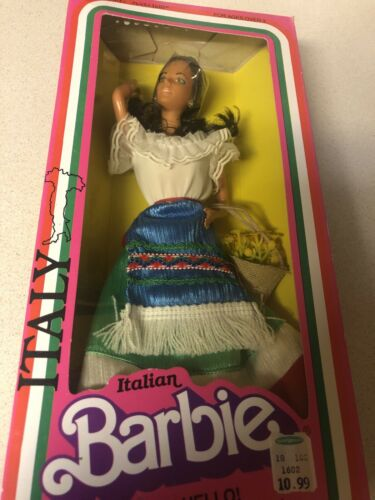 Vintage 1979 Italian Barbie, Mattel 1602. Famous International Fashion Doll  - $49.99