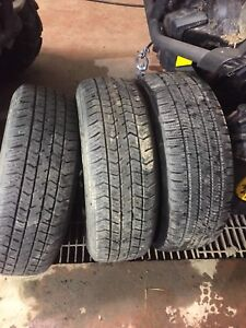 Tires P205/70/R14 $250 for all 3