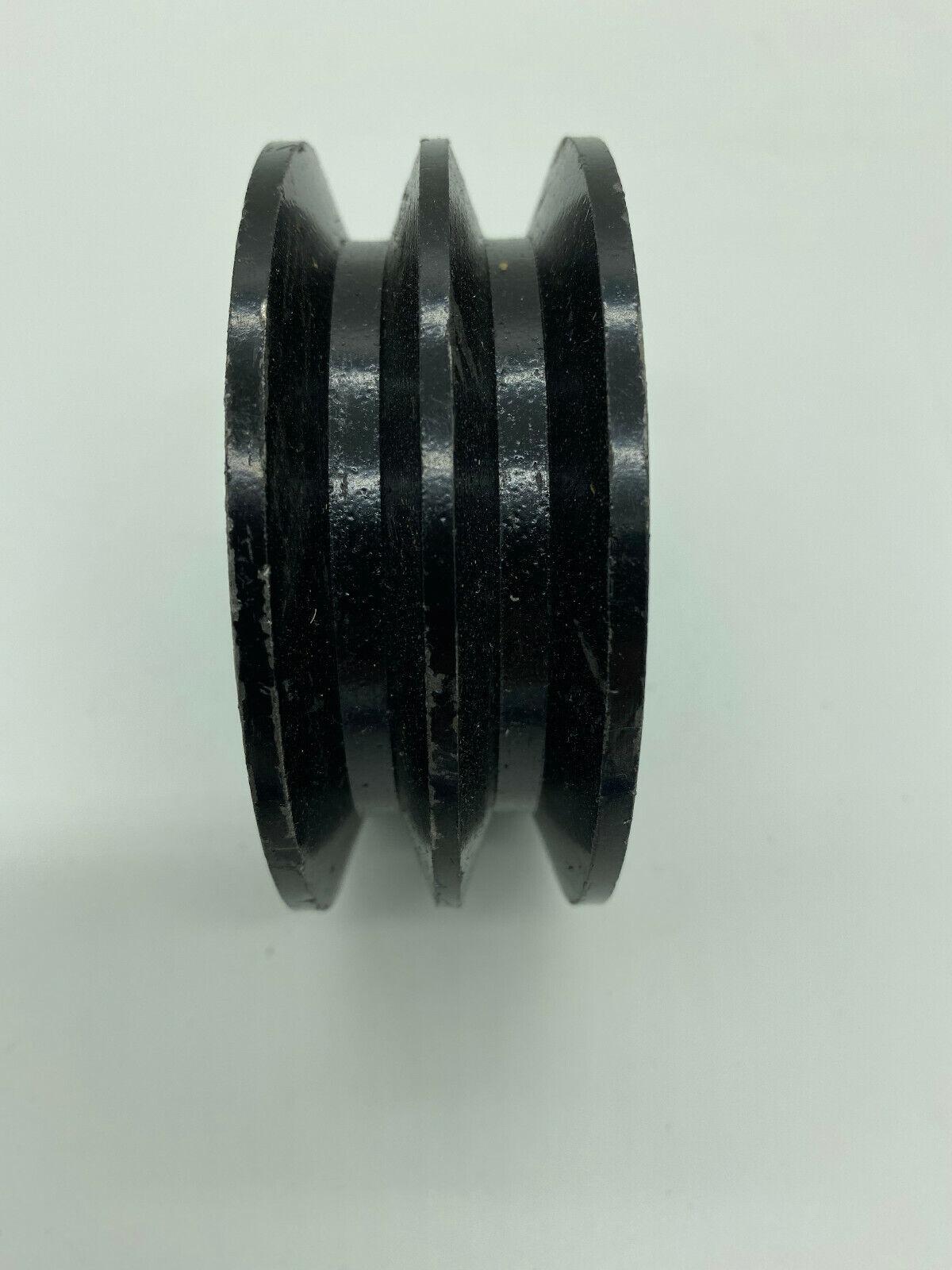 Keilriemenscheibe 87mm 2-rillig Riemenscheibe, Welle 25mm