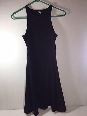 Old Navy Jr Girls Dress Teen Ladies Little Black Tank Sun Dress Size XS