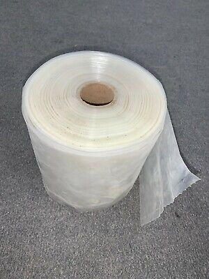 Clear Plastic Bags 6 X 8 Bag Size Estimated 355 Bag Roll 5.4 Lbs