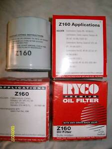 Oil Filter Z160 suit early model Holden V8 - All three for $15 Andrews Farm Playford Area Preview