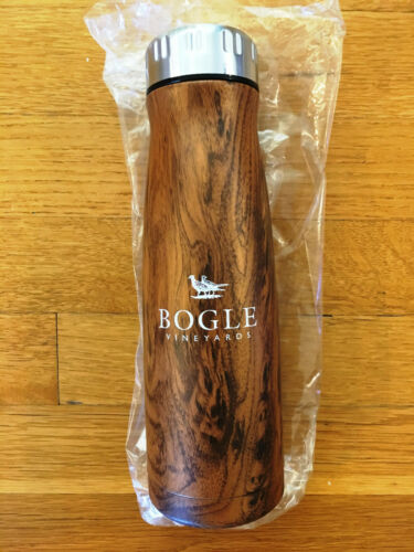 Bogle Vineyards Water Bottle, BRAND NEW! PROMO Cup Stainless Steel Travel Mug