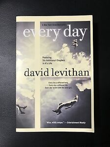 Every Day by David Levithan Kitchener / Waterloo Kitchener Area image 1